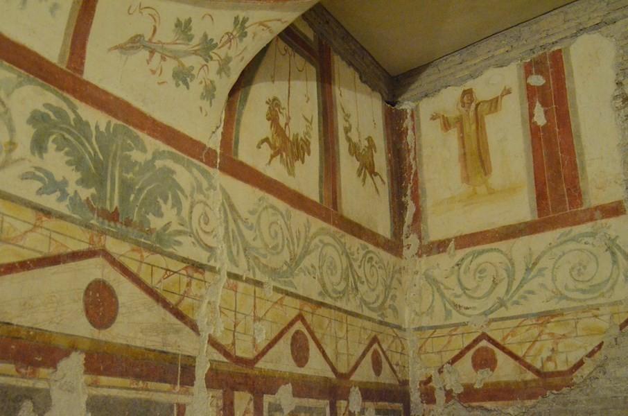 Case Romane - ausgemalte römische Häuser in Rom: Touristen nahezu unbekannt