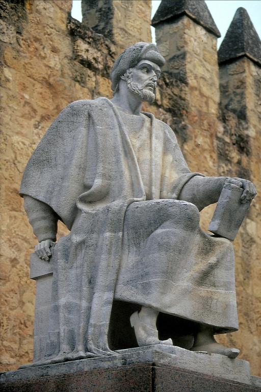 Córdoba, Denkmal für den muslimischen mittelalterlichen Philosophen Averrhoës