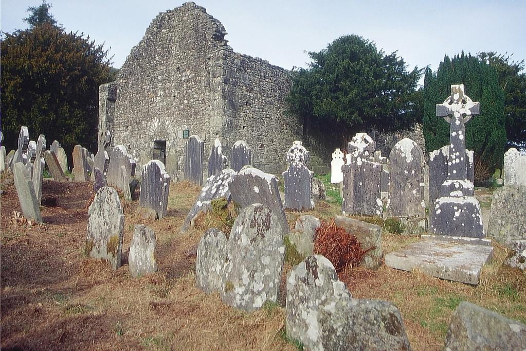 Glendalough, Klosterkirche