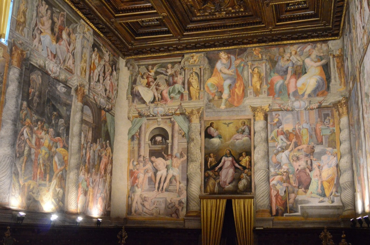 Oratorio del Gonfalone, 'Sixtinische Kapelle des Manierismus'