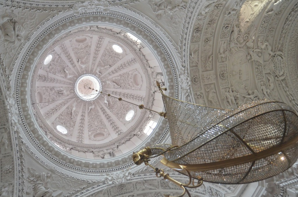 Vilnius, Sankt Peter und Paul (1668-1675), Kuppel