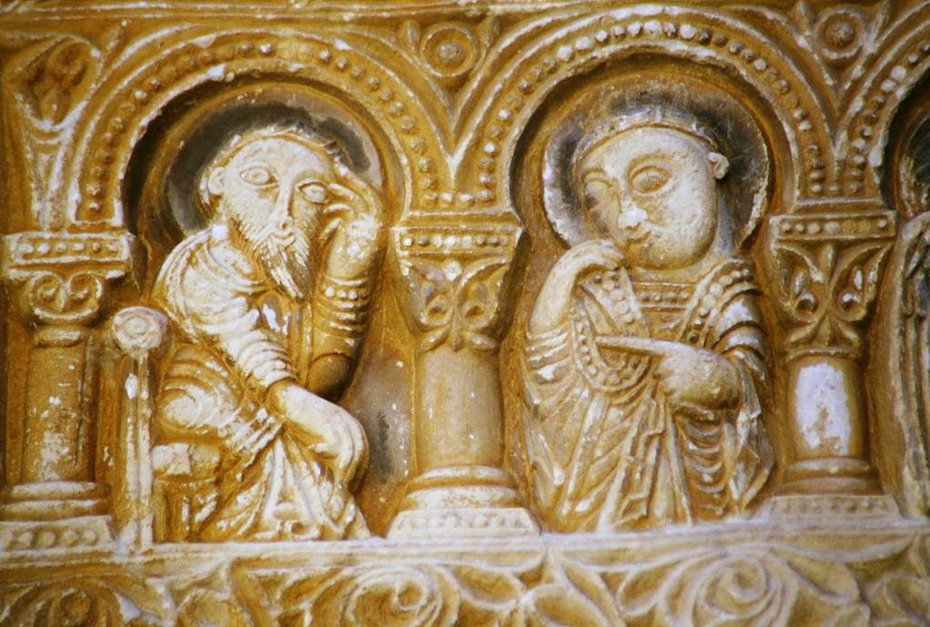 Saint-Andrè, Türsturz, Apostel (?)