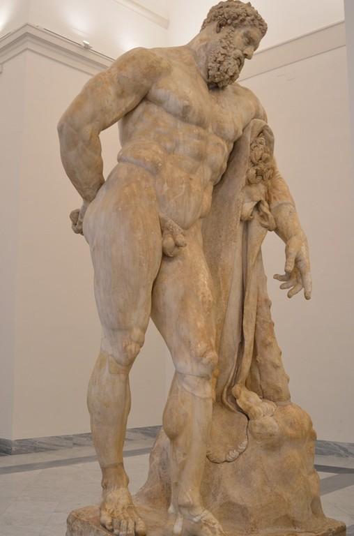 Neapel, Archäologisches Nationalmuseum, Herakles Farnese