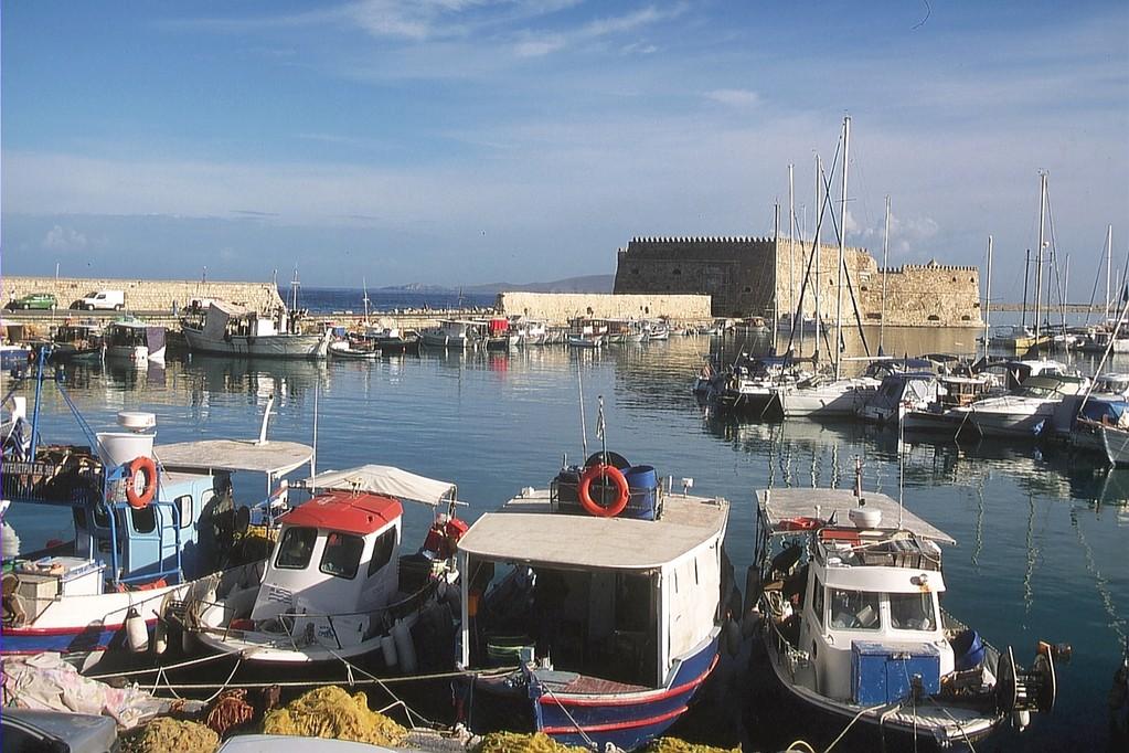 Heraklion, Hafen
