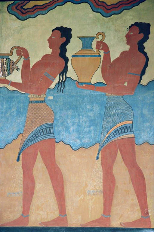 Prozessionsfries (Knossos, Rekonstruktion)