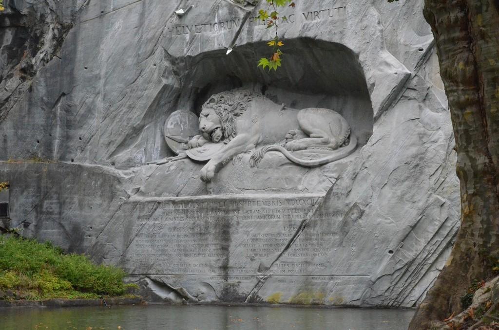 Luzern, Löwendenkmal