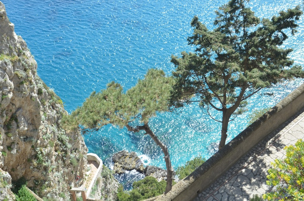 Capri, Via Krupp (Detail)