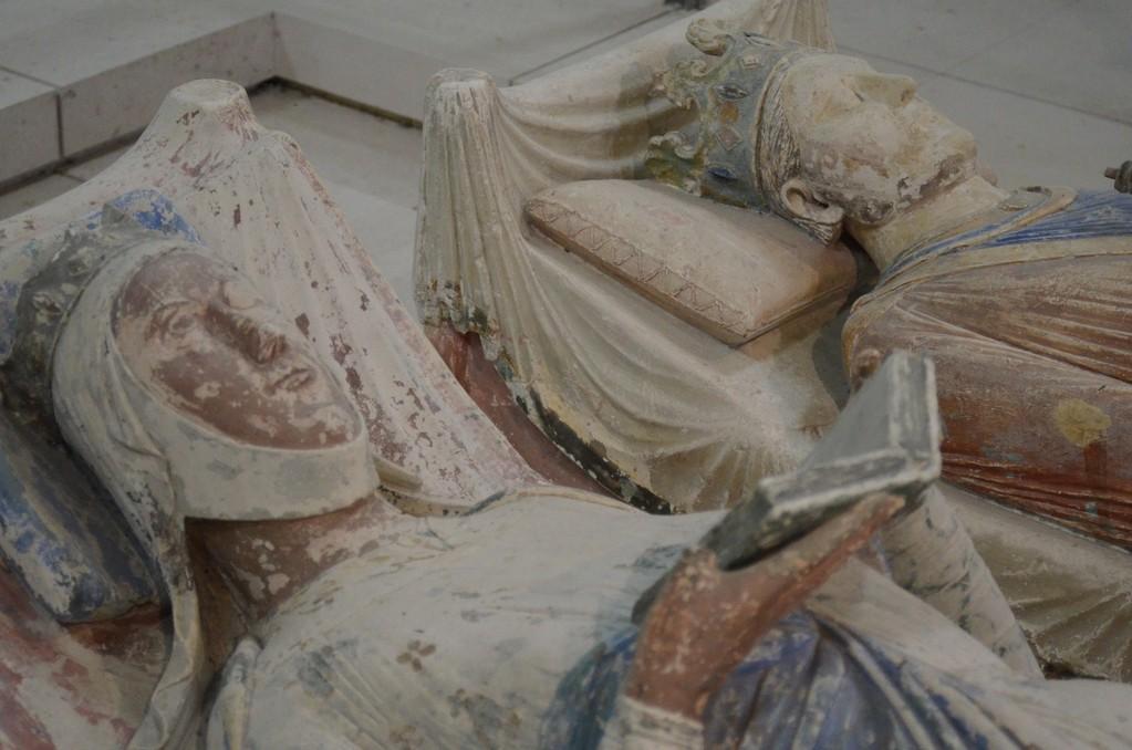 Grabmäler Eleonores von Aquitanien (um 1122-1204) und König Heinrichs II. (1133-1189) (Abtei Fontevraud)