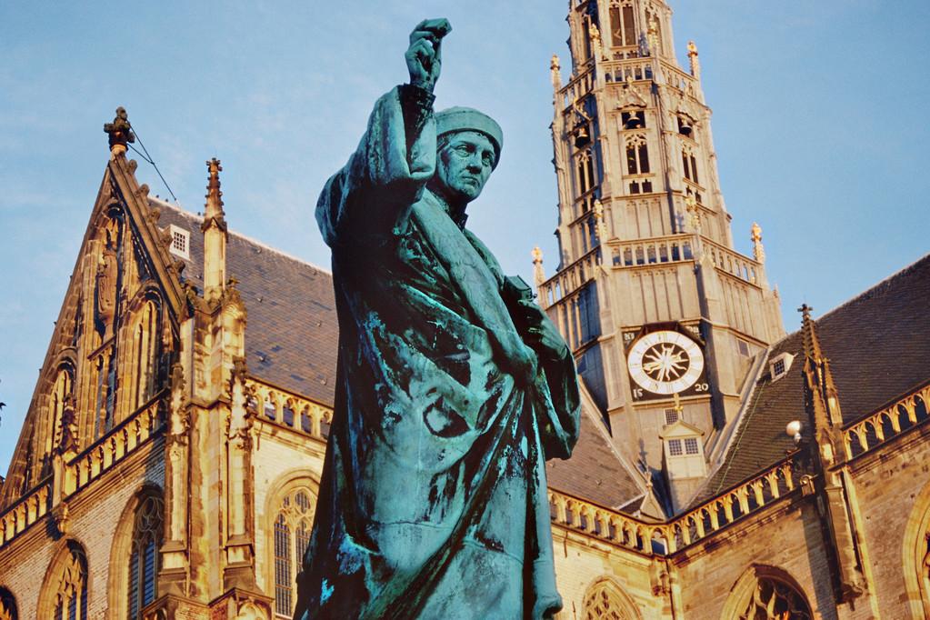 Haarlem, Denkmal für Laurens Coster
