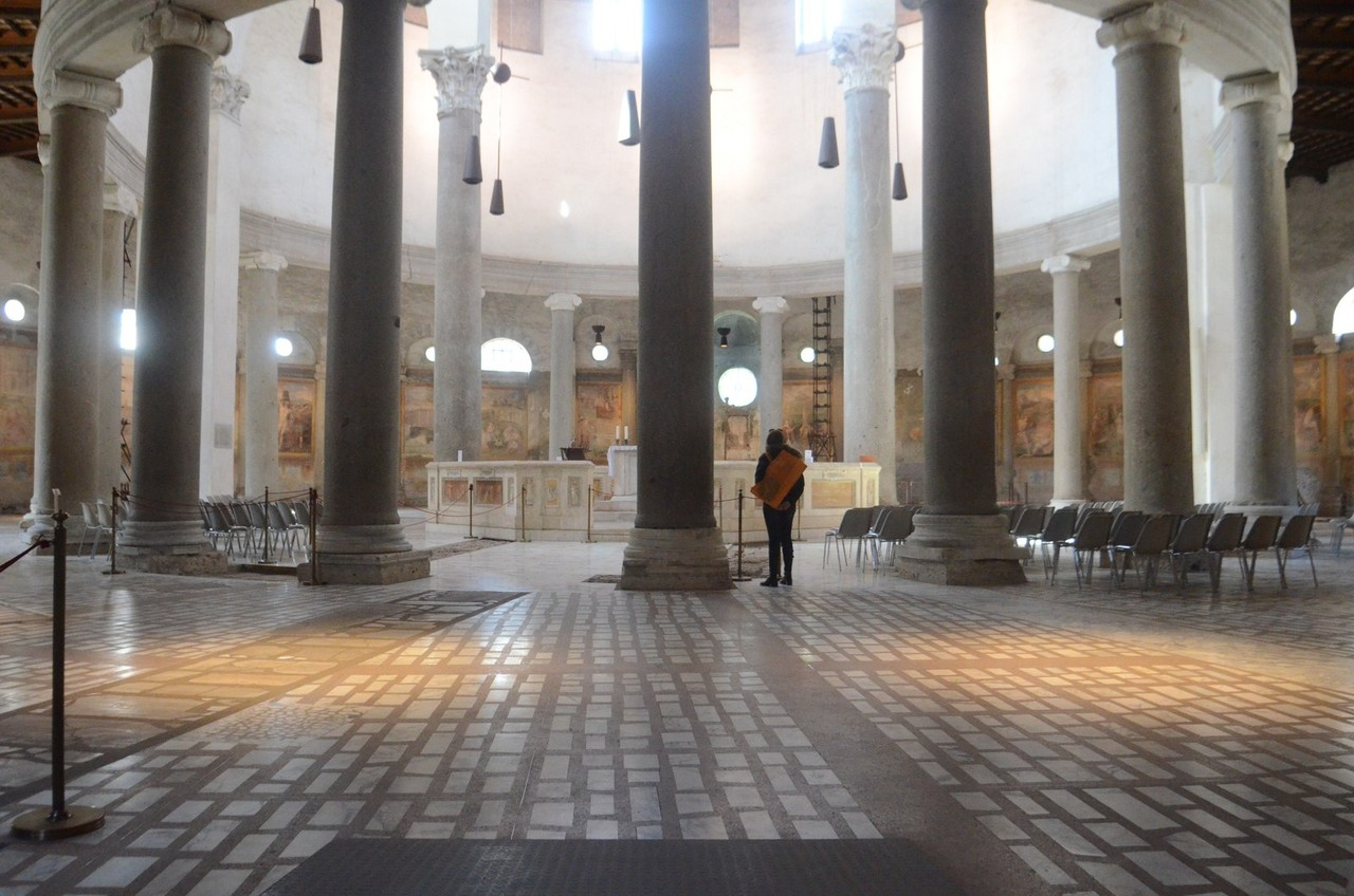 Santo Stefano Rotondo - älteste frühchristliche Rundkirche Roms