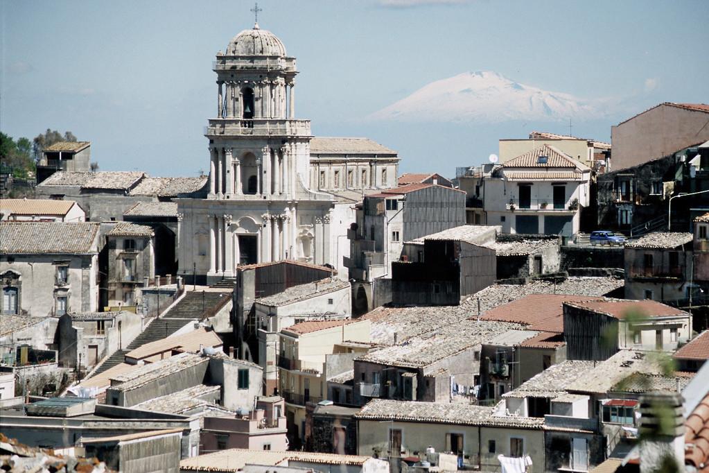 Buccheri (Provinz Syrakus), Blick auf Ätna