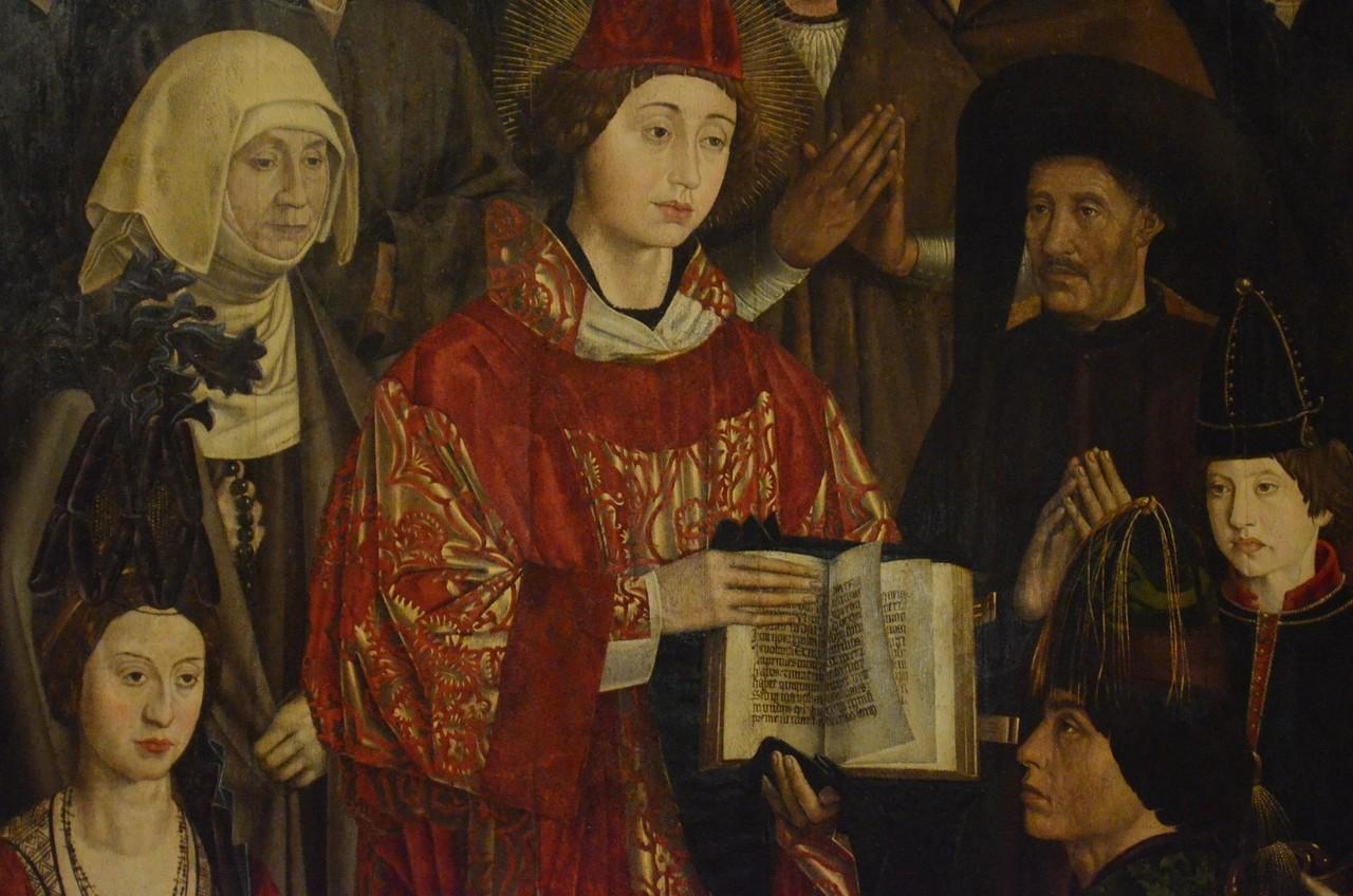 Nuno Gonçalves (15. Jh.), Vinzenz-Altar (Lissabon, Museu Nacional de Arte Antiga)