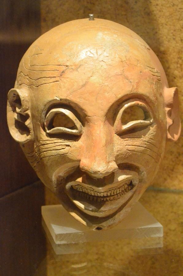 Cagliari, Archäologisches Museum, Phönizische Maske