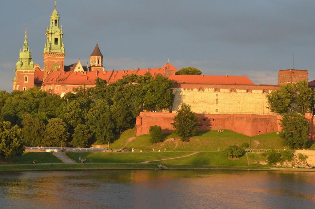 Krakau, Wawelhügel