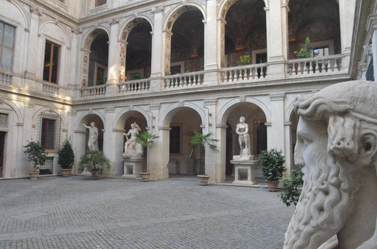 Palazzo Altemps - mit Skulpturen von Weltgeltung