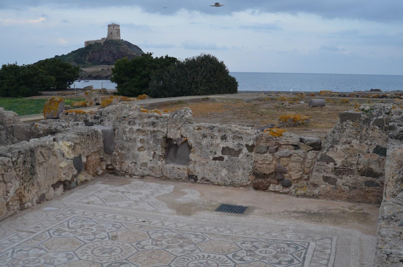 Nora, Phönizisch-römische Ausgrabungsstätte