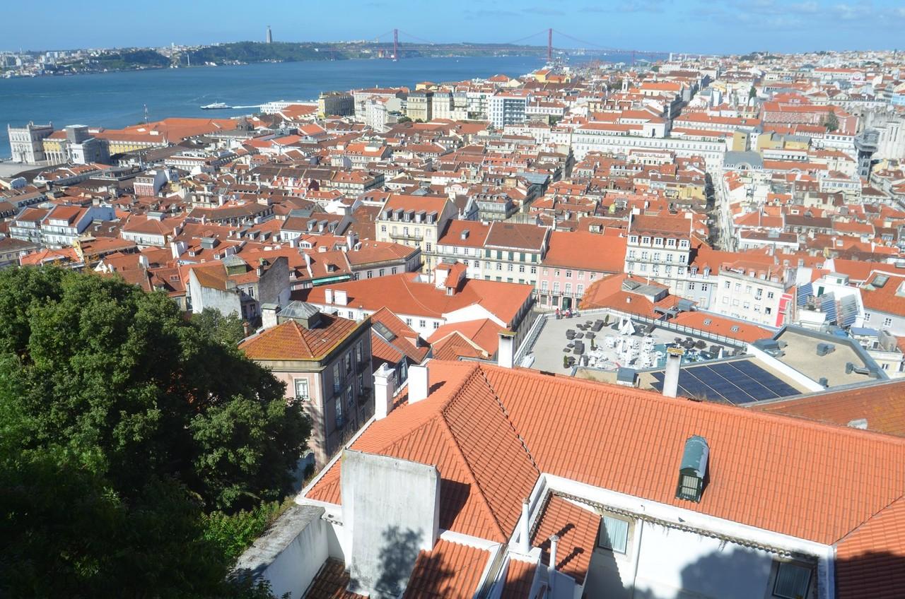 Lissabon, Blick vom Castelo de São Jorge
