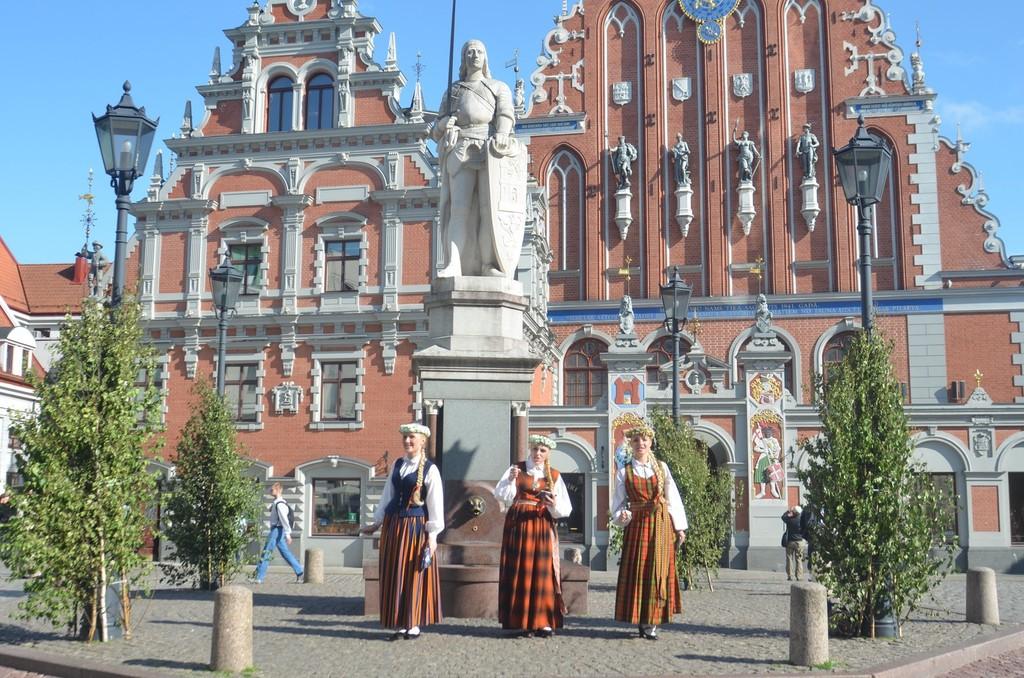 Riga, Schwarzhäupterhaus