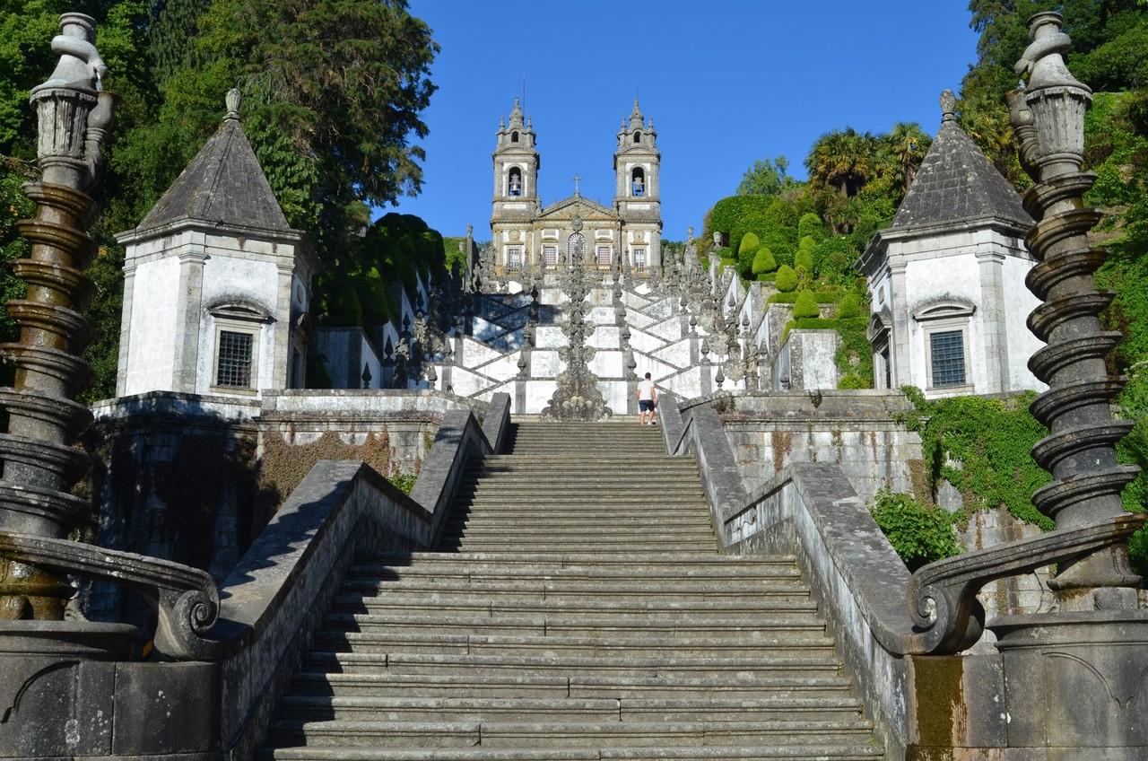 Wallfahrtskirche Bom Jesus do Monte bei Braga