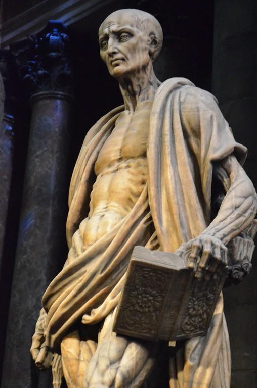 Marco d'Agrate, Der heilige Bartholomäus (Dom zu Mailand)