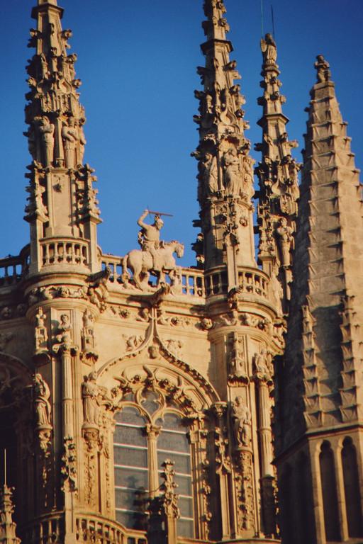 Burgos, Kathedrale, Santiago Matamoros