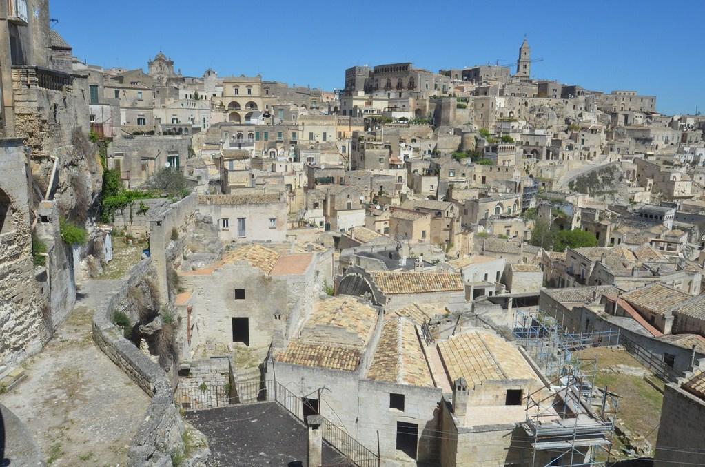 Matera, Panorama über den Sasso Caveoso