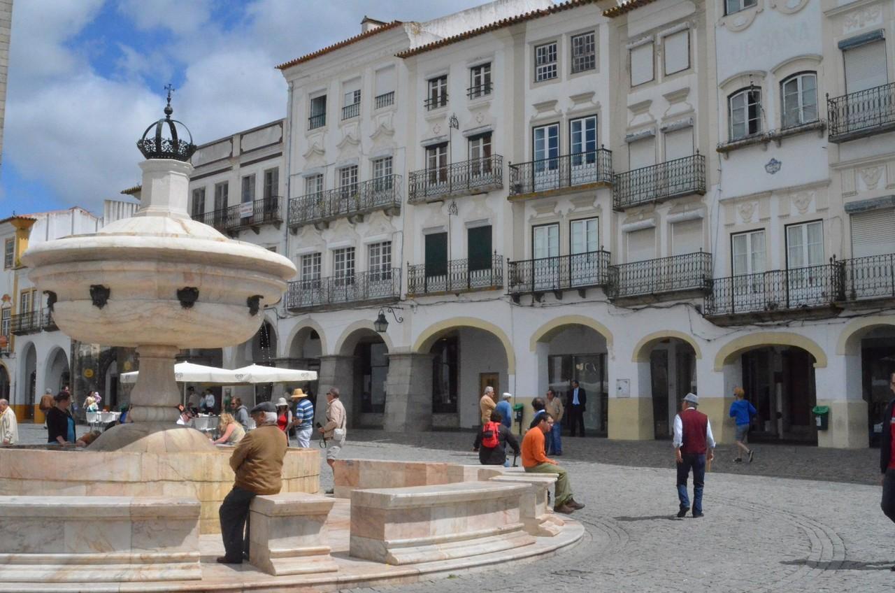 Évora, Marktplatz