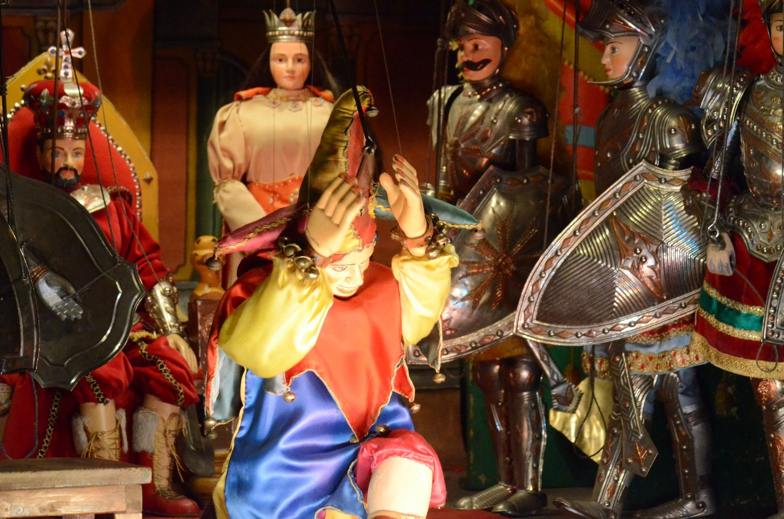 Palermo, Sizilianisches Marionettentheater