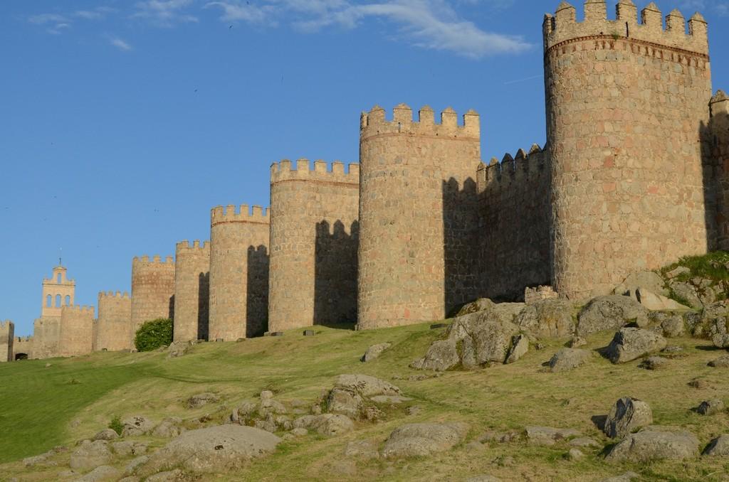 Stadtmauer von Ávila, Detail (Ansicht von Nordwesten)