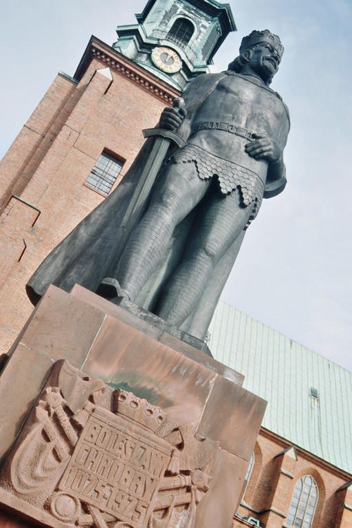 Gnesen, Denkmal für König Boleslav Chrobry