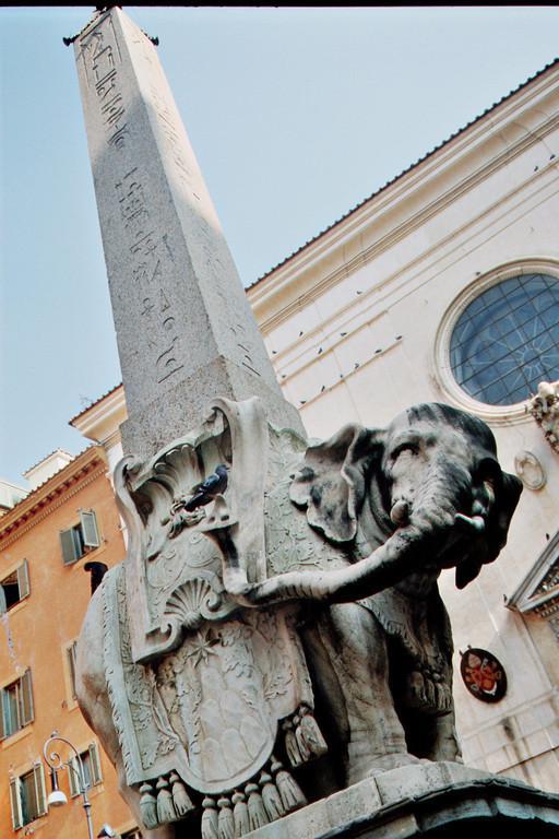 Berninis Elefant vor Santa Maria sopra Minerva