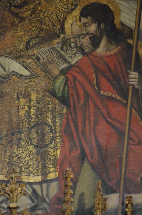 ... mit dem Apostel Johannes und seiner Brille