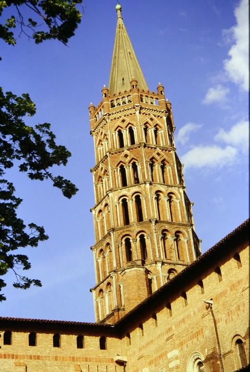 Toulouse, Saint-Sernin, Glockenturm