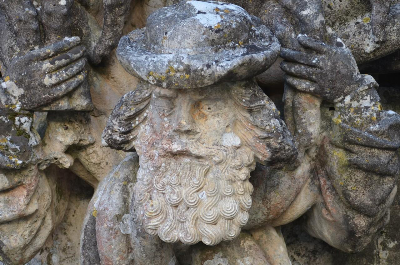 Tomar, Manuelinisches Fenster, Detail