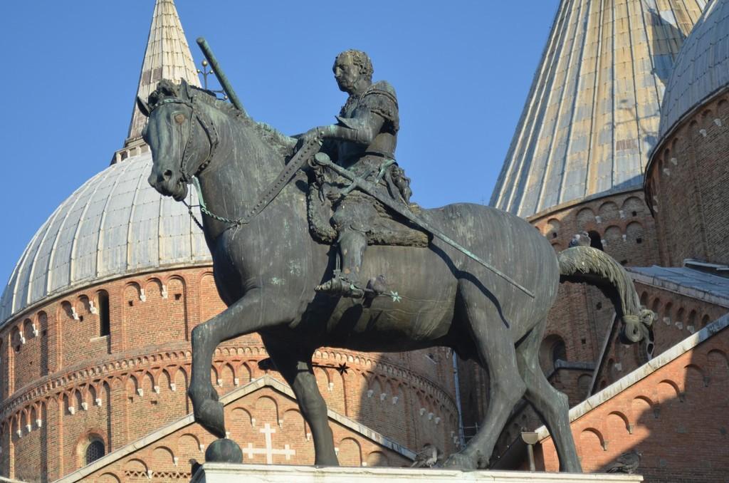 Padua, Donatello, Reiterstandbild für Gattamelata