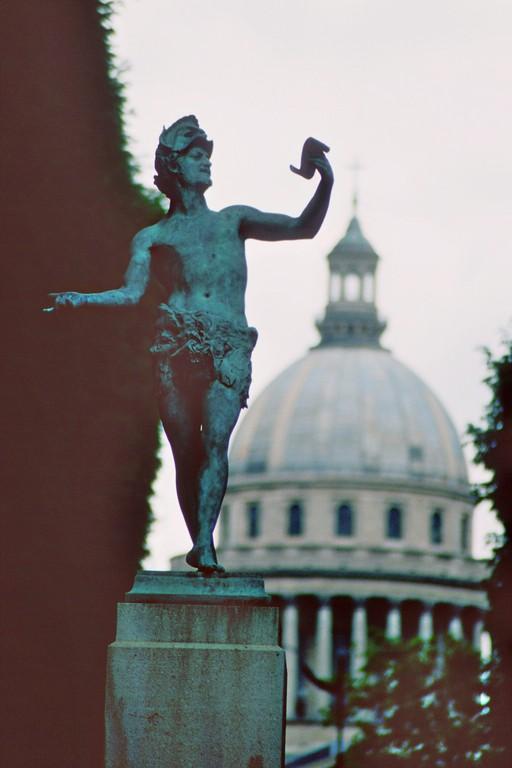Jardin du Luxembourg, Blick zum Pantheon