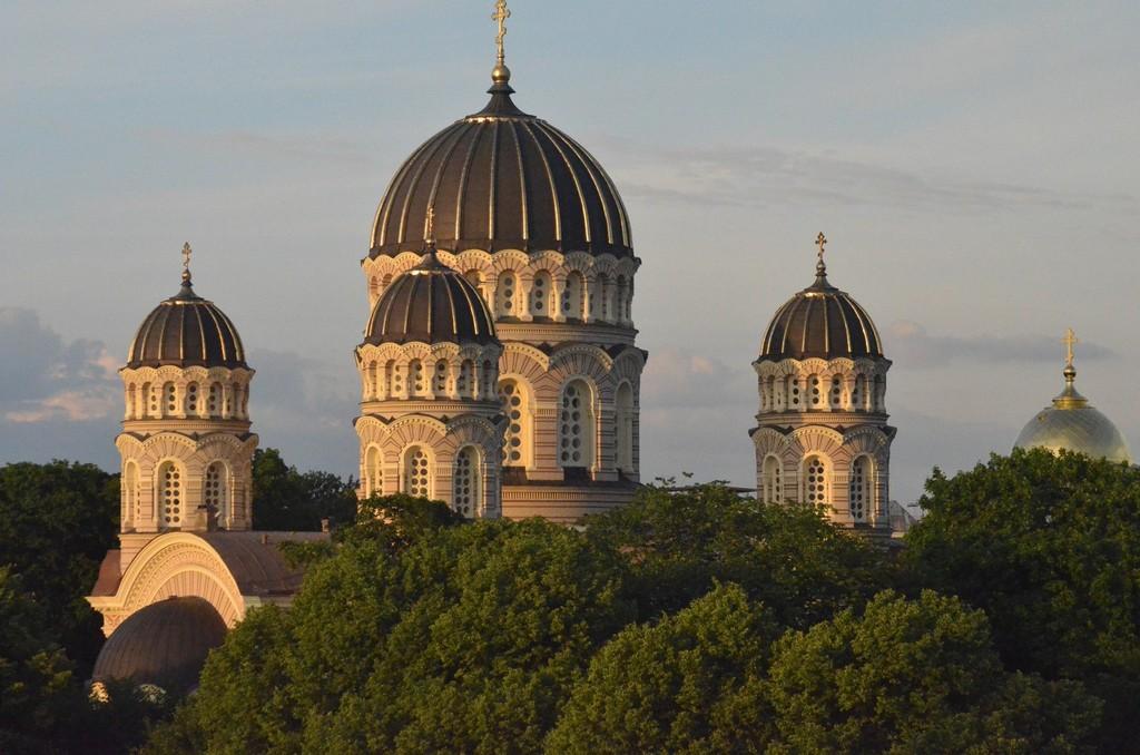 Riga, Russisch-orthodoxe Geburt-Christi-Kathedrale (neobyzantinisch, 1876-1884)