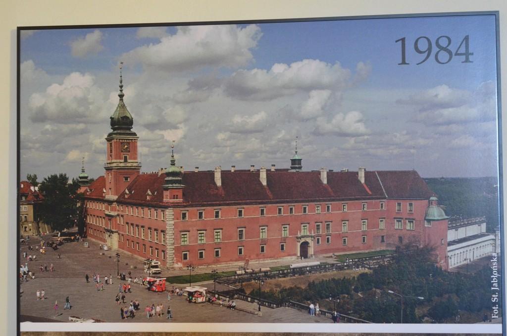 Warschau, Schloß nach Wiederaufbau