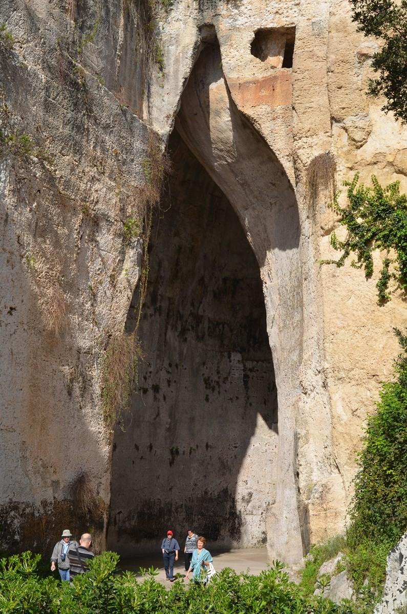 Syrakus, 'Ohr des Dionysos'