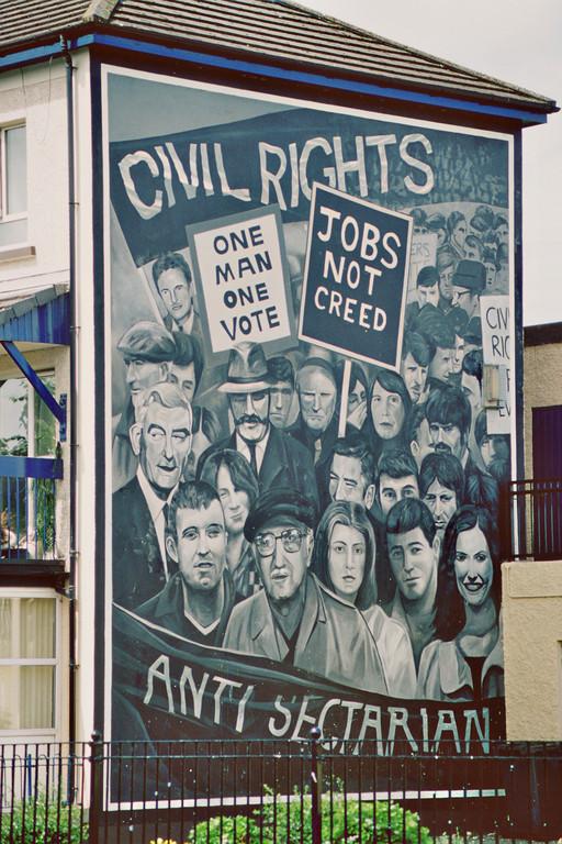 (London-)Derry, Mural