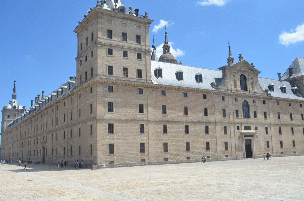 Real Sitio de San Lorenzo de El Escorial, Residenz König Philipps II. (erbaut 1563-1584)