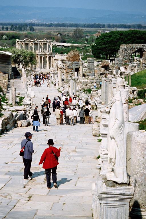 Ephesus, Kuretenstraße