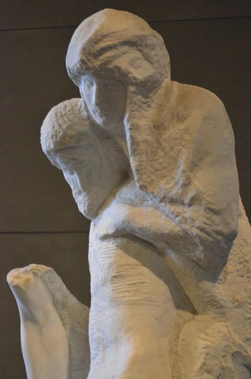 Mailand, Castello Visconteo-Sforzesco: Michelangelo Pietà Rondanini (unvollendet)
