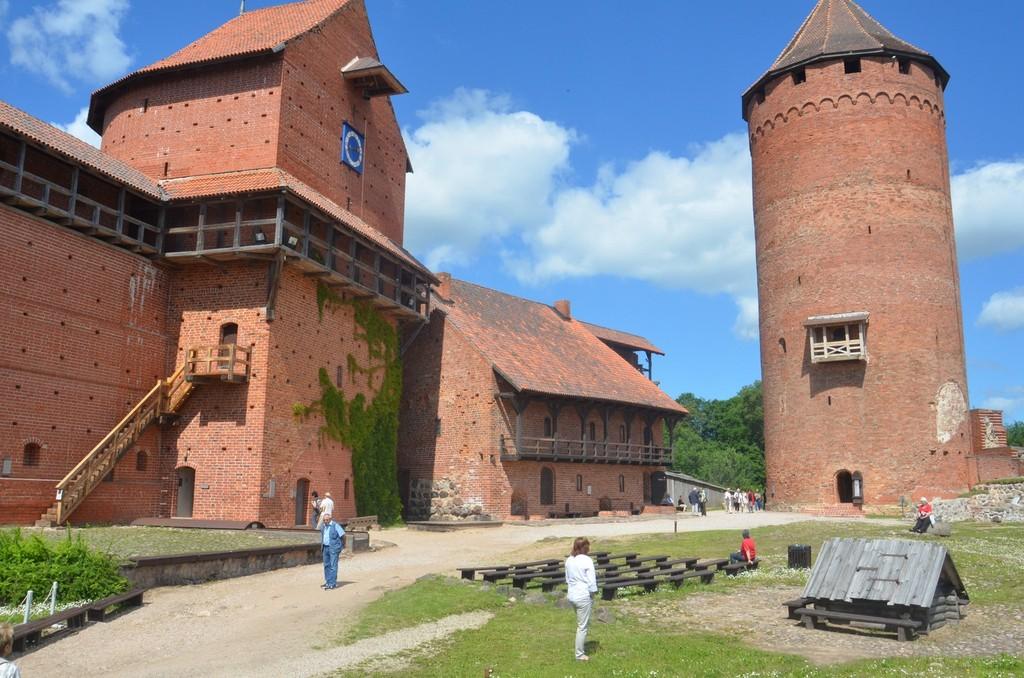 Burg Turaida (13.-15. Jahrhundert)
