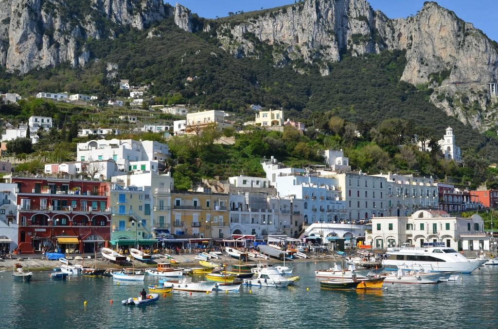 Capri, Hafen