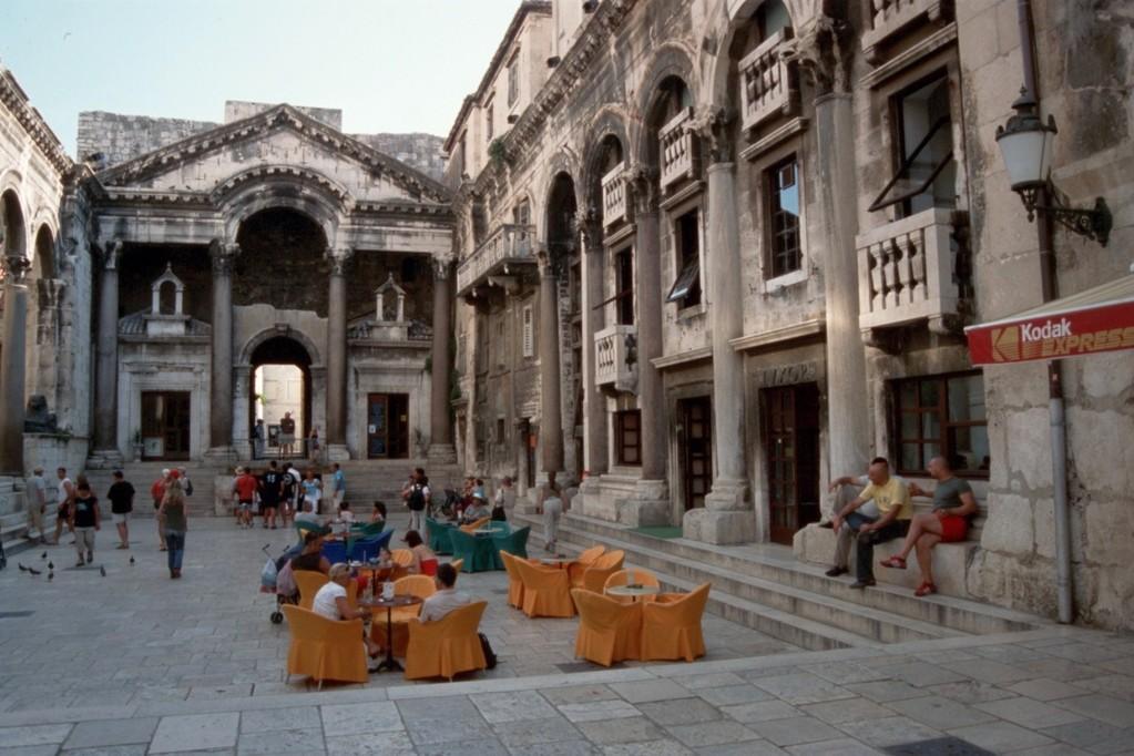 Split, Antike und Moderne im Palast des Kaisers Diokletian