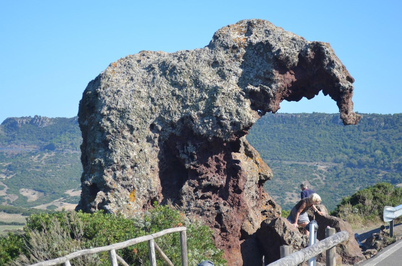 Felsengrab Roccia dell'Elefante (bei Castelsardo)