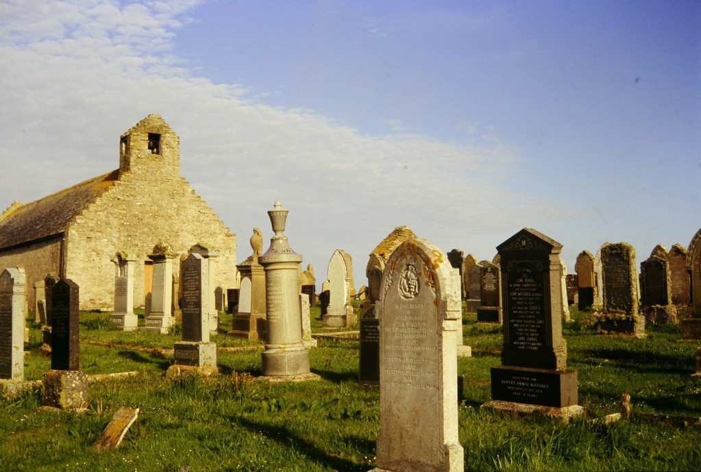 Orkney Mainland, St. Mary's, Friedhof