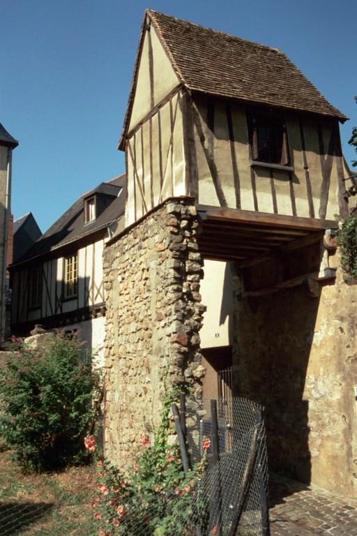 Le Mans, Fachwerkhaus in der Altstadt