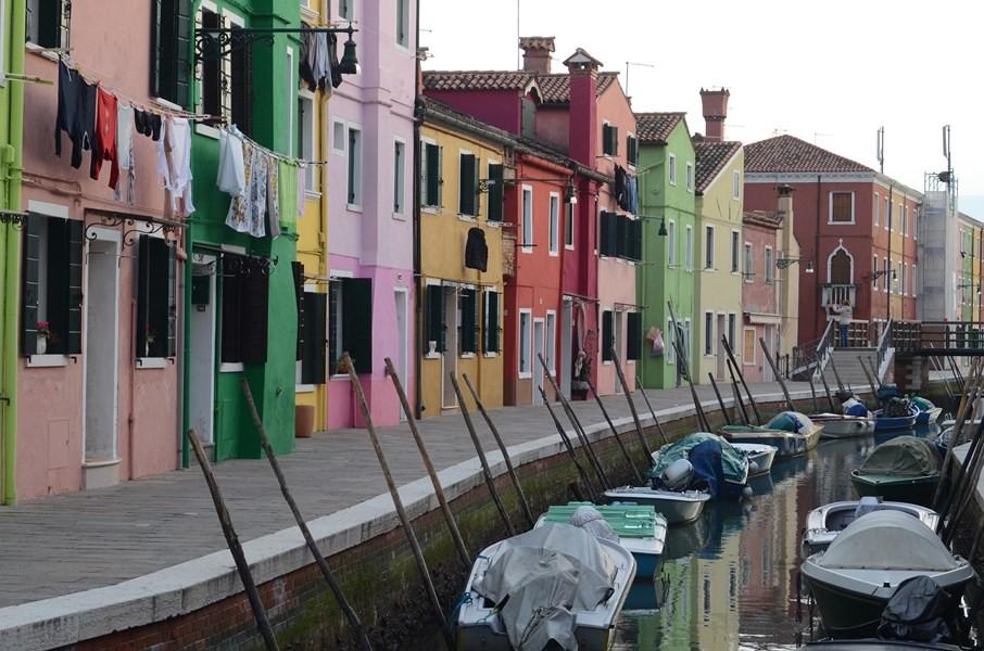 Fassaden in Burano